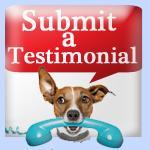 Submit a Testimonial